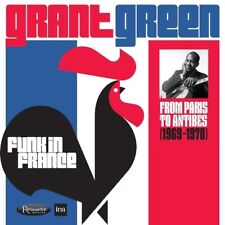 Grant Green-radio sur FRANCE: From Paris to Antibes 1969-1970 2 CD NEUF