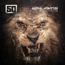 Animal Ambition: An Untamed Desire to Win [LP] [PA] by 50 Cent (Vinyl, Jun-2014, 2 Discs, G-Unit Records)
