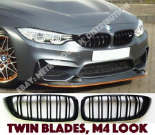 BMW 4 f32/f33/f36/f82 gran,coupe/convertible double bar,m4 grille,GLOSS BLACK
