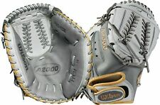 "Wilson A2000 Fastpitch SuperSkin CM34 34"" Catcher's Mitt RHT"