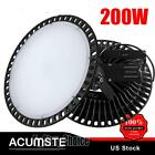 UFO LED High Bay Light 200W Factory Industrial Lights Warehouse Gym Shop Lamps