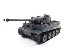 100% Metal Mato 1/16 Tiger I RTR RC Tank Model Infrared Barrel Recoil Gray 1220