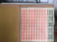 7 FULL SHEETS OF GERMANY STAMPS IN LARGE FOLDER