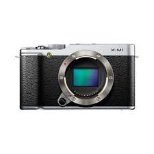 Near Mint! Fujifilm X-M1 16MP Digital Body Silver - 1 year warranty