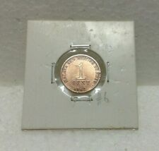 MALAYA & BRITISH BORNEO 1cent coin 1962  High Grade #6