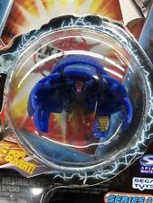 Bakugan Battle Brawlers Laserman Blue Aquos Booster Pack Series 1~ 2008. Sealed!