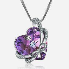Heart Necklace Swarovski Crystal Pendant
