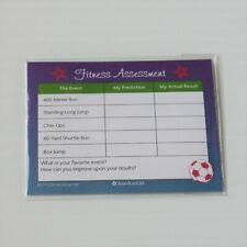 American Girl 2015 Sport Storage Bench Three Skill Sheets Workouts for Doll Only