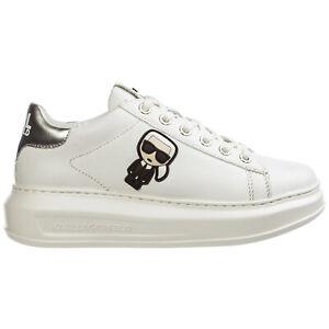 Karl Lagerfeld sneakers donna k/ikonik kapri KL62530 argento White / Silver