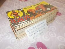 Fumetti Albi a striscia Hondo Collana Zenit Nuova Serie N. 2 al N. 26 Anno 1956