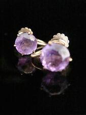 Amethyst Earrings Edwardian Fine Jewellery