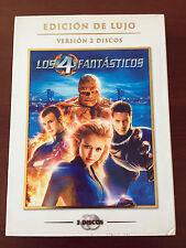 LOS CUATRO FANTASTICOS EDICION DE LUJO 2 DVD FUNDA DE CARTÓN - SPANISH ED - 2005