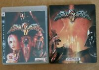 Soul Calibur IV 4 Collectable Steelbook Limited Edition - Sony Playstation 3 PS3