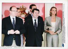Photo originale Monaco Prince Albert et Charlene Wittstoc GP F1 2010 ( 193 )