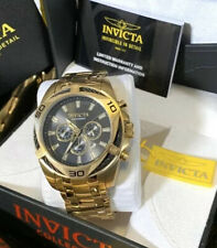$995 Invicta Bolt 34199 50mm Gold Watch Flame Fusion Timepiece