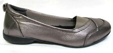 TS shoes TAKING SHAPE sz 7 / 38 Helen Leather Ballet Flats comfy pewter NIB!