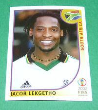 N°159 LEKGETHO SOUTH AFRICA PANINI FOOTBALL JAPAN KOREA 2002 COUPE MONDE FIFA