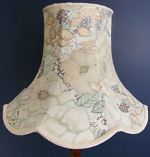 Vintage handmade lampshade Designers Guild fabric for standard lamp or ceiling