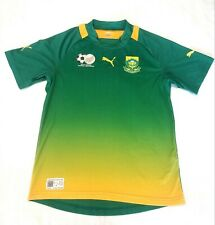 SOUTH AFRICA Soccer Jersey Puma USPDRY Mens Large EUC