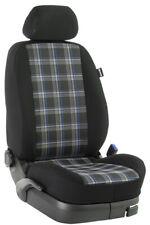 Renault Master bis 2010 Maß Sitzbezüge Vordersitze 2-Sitzer: GTI/blau/schwarz