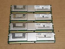 Crucial 16GB 4x 4GB RAM 240 Pin DDR2 PC2 CT51272AF667 201116 Server Upgrade Card