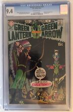 GREEN LANTERN #79 - CGC 9.4 - BLACK CANARY APPEARS - OFF WHITE PAGES