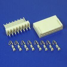 Encabezado de pin de enganche 8-Way + Kit De Vivienda + terminal de crimpado (paquete de 5)