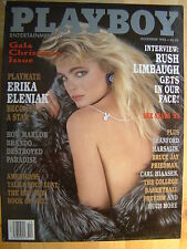 Original Playboy Magazine December 1993 Erika Eleniak, Sex Stars '93