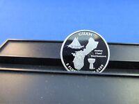 2009-S Silver Quarter Guam Deep Cameo Mirror Proof Upper Grading Range Ultra