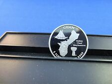 2009-S Silver Quarter Guam Deep Cameo Mirror Proof Upper Grading Range
