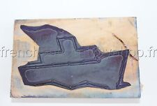 A406 TAMPON SCOLAIRE FRENCH RUBBER STAMP BOAT BATEAU