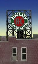 Miller Engineering N/Z Scale SINCLAIR GASOLINE Lighted Rooftop Sign NEW #33-8980