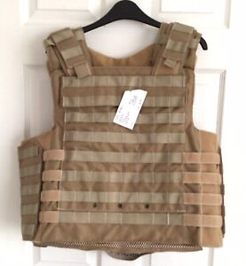 "AEGIS AC##0096 PERSONAL BODY ARMOUR PLATE CARRIER VEST, New, SIZE XXL - 48""/50"""