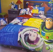 ~ Toy Story - BUZZ & WOODY SINGLE DOONA DUVET QUILT COVER & COOL LUNCH BAG Twin