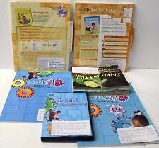 Gear Up,Ell Fluency Kit: Grade 1-2 Guided Reading,ELL Lesson Plans,DVD,Books (7)
