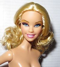 ^^ NUDE BARBIE ~ BLONDE BEBE CARNAVAL MODEL #6 1.0 MUSE HYBRID DOLL FOR OOAK