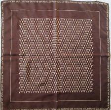 -Authentique Foulard VALENTINO 100% soie TBEG vintage scarf 75 x 76 cm fb009af3a12