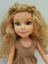"2009 MGA Best Friend 18"" Doll Blonde Hair Braid w/Moccasins- Jointed Legs & Arms"