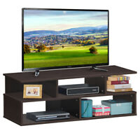 "TV Stand Entertainment Media Center Console Hold up to 42"" TV w/ Storage Shelves"