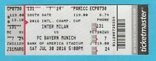 Orig.Ticket  International Champions Cup 2016   INTER MAILAND - BAYERN MÜNCHEN !