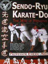 SENDO-RYU KARATE-DO BY EMERIC ARUS BLACK BELT MARTIAL ARTS KARATE KUNG FU