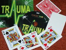 Trauma -- (Magic Tao) -- smart 4 card printing routine in Bicycle poker     TMGS