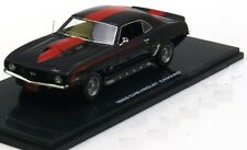 CHEVROLET CAMARO SS 427 1969 BLACK RED HIGHWAY 61 43008 1/43 ROUGE & NOIR