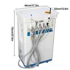 600w Portable Dental Delivery Cart Unit Equipment Compressor Curing Light