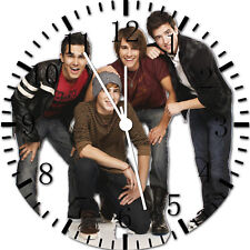 Big Time Rush Frameless Borderless Wall Clock Nice For Gifts or Decor Y47