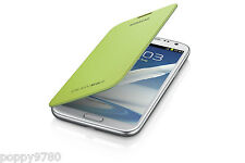 NEW Original OEM Samsung Galaxy Note 2 Protection  Flip Cover Case  - Lime Green