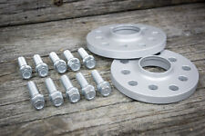 Spurplatten 20mm / 2x10mm inkl Schrauben 5x112 Distanzscheiben Spurverbreiterung