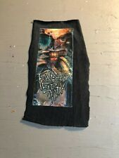 [9070 - PA1] Patch tissus pour t-shirt - coton - Punk-  Punshed earth