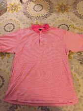 Greg Norman Men's Polo Short Sleeve Golf Shirt Size XXL Pink