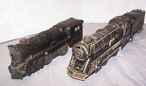 MARX #897 Locomotive, 1940's Vintage w/ New York Central Tender and Second Loco